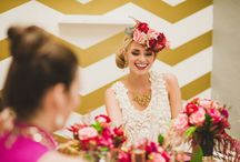 #Bubbles, #Ruffles & #Foaming #Brides / This collection of photos has come about as the brides or their dresses just look bubbly fun and foaming with excitement / by The Wedding Owl
