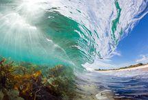 Красота природы. / Волны, морские жители. И разные места