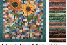 Quilting - Sunflowers