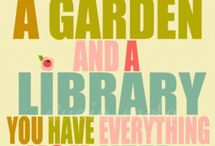 Literary Garden Ideas, Quotes and Poems / Floral themes inspired by authors and fictional literary characters