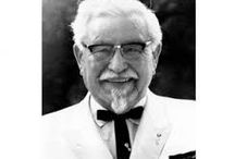 Coronel Sanders / The founder of Kentucky Fried Chicken (KFC)