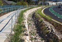 WSUD / Water Sensitive Urban Design, particuarly urban street design