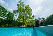 Zwembaden / Fons Linders Tuinmeesters   Verschillende creatieve creaties van zwembaden