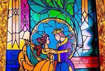 ólomüveg mesealakok stained glass fairytales