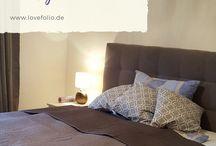 Schlafzimmer / So wohne ich - Bett, Schlafzimmer, Bedroom, Interior
