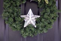 Wreath and Stars