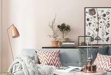 Light minimalizm interior