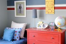 The boys bedrooms