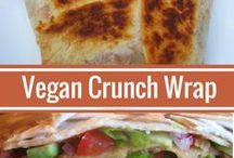 Vegan Sandwiches and Wraps / Yummy vegan sandwiches, wraps, rolls, etc.