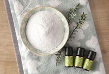 DIY Rezepte mit ätherischen Ölen / Hier findet ihr Rezepte zum Selbermischen von Kosmetik und Pflege