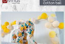 Guirnaldas de Luces - Cotton Ball