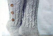Носки, гетры, обувь