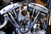 Harley bikes / Bobber spirit