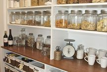 Pantry Love / Inspiration for creating and maintaining my food storage/pantry.
