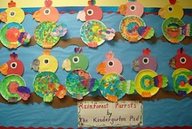 Preschool and Kindergarten Bulletin Board Ideas and crafts / Bulletin board ideas for the preschool and kindergarten classroom for  winter, spring, summer, fall, thanksgiving, Easter, Christmas, end of school, beginning of school, apples, owls, flowers, Dr. Seuss, St. Patrick's Day, groundhog's day, Valentine's day, Chinese new year, pilgrims, chicks, water, etc.