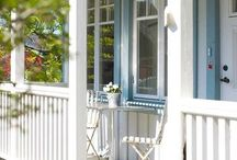 Verandah railing