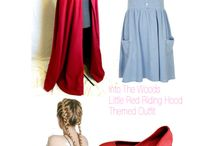 Into the Woods Red Riding Hood Costume