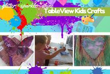 Tableview Kids Crafts / Where your kids can enjoy 4 hours of fun educational arts and crafts in a safe home environment. Parents can just relax a bit and enjoy their kids crafts!