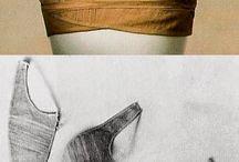 Regency corsets