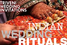 TRIVENI WEDDING INVITATIONS PRESENTS - INDIAN WEDDING RITUALS / TRIVENI WEDDING INVITATIONS PRESENTS - INDIAN WEDDING RITUALS  http://www.weddingcardshoppe.com/Hindu_Wedding_Ceremony.htm  The pre-wedding and post-wedding rituals and celebrations vary by region, preferences or the resources of the groom, bride and their families. They can range from one day to multi-day events. Pre-wedding ceremonies include engagement (involving vagdana or betrothal and lagna-patra written declaration),.