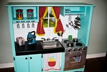 Play kitchens / by Virve Deutsch