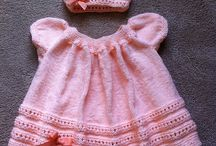 Free Pattern: Peachy baby dress and hat by Geetanjali Doshi