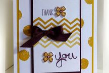 SU - work of arts / Work of Arts, Stampin Up, cards