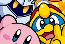 Kirby / Probably my favorite game for Nintendo.  I don't really ship anyone in the Kirby universe.  Favorite character is Meta Knight, and I like to think he has a father/son relationship with Kirby.