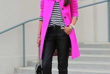 Outfits color fucsia