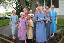 Amisch-Kleid