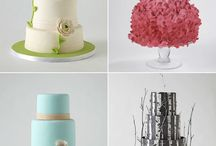 wedding cakes / by Shania Wilson