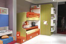 podkrovní dětstký pokoj