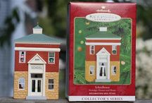 Hallmark, Dept 56, Other Christmas Ornaments & Items For Sale / Hallmark, Dept 56, Christmas cottages, Ornaments, and all other Christmas Related items.   All for sale on eBay at time of original pinning.