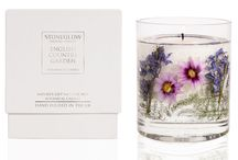 Summer Flower Candles / New candle collection by Stoneglow. Available with free delivery at www.Candles.co.uk