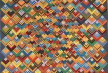 scrap quilts / different ideas for using scraps