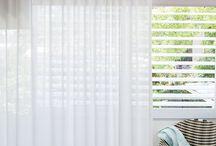 Plisse curtains