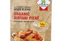 Buy Online 24 Mantra Organic Biryani Pilaf Spice Mix - Hyderabadi Biryani Spice from USA