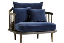 Sofas, lounge chairs