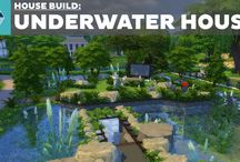 sims 4 underwater house