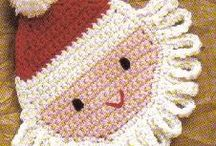 santa claus crochet
