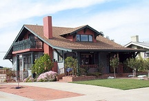 Craftsman/Mission style home / If I had the luxury of owning two homes, one would definitely have to be a Craftsman bungalow, furnished with all Mission Style furniture and accessories.   / by Marsha Campbell-Dunbar