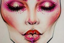 editorial/fashion makeup