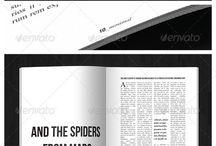 Magazines / Layouts inspiration / by Arantxa Garcia Westwick