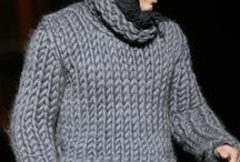 Knitted Men