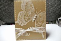 """Stampin Up Swallowtail Stamp / This large stamp is a """"must have"""" for sure.  Its possibilities are endless!  Check out some of the projects I've used it on.    I'm happy to answer any questions you may have about any of these projects.  You can email me at amascio@comcast.net. Check out my blog at: www.stampwithanna.blogspot.com Shop with me at: http://www.stampinup.net/esuite/home/annamasciovecchio/"""