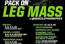 Musclepharm Workouts Legs