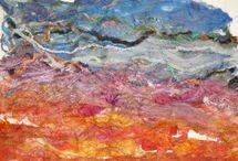 art textile paysage