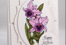 Cards - Flourishes stamps