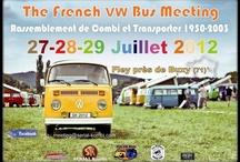 The French VW bus Meeting 2012  / Meeting Combi Bus Transporter de 1950 à 2003. le week-end du 27-28-29 JUILLET 2012 à Fley en Bourgogne (71390) FRANCE. by Serial-kombi.com
