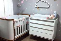 Decoração quarto de bebê ♡